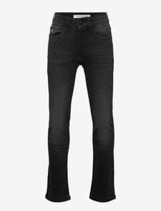 SLIM ESSENTIAL DARK GREY STR - jeans - essential dark grey stretch