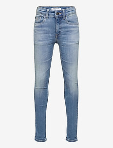 SUPER SKINNY INFINITE LT BL STR - jeans - infinite light blue stretch