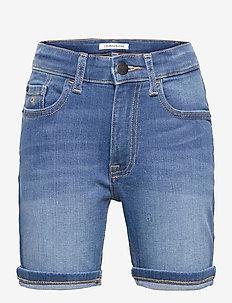 REGULAR SHORTS FRESH BLUE STR - shorts - fresh blue stretch