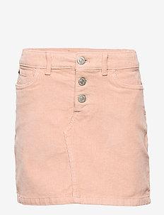 CORDUROY SKIRT - skirts - pearl blush