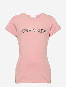 INSTITUTIONAL SLIM T - korte mouwen - soothing pink