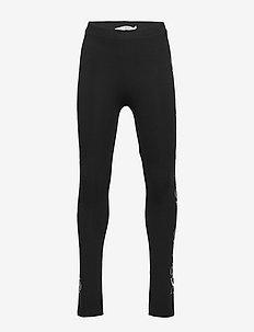 MIRROR MONOGRAM LEGGING - leggings - ck black