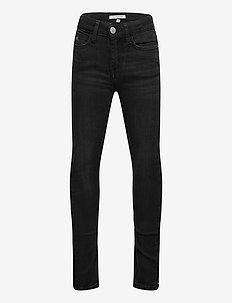SKINNY HR CHALK  BLACK STRETCH - jeans - chalk black stretch