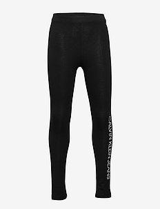 INSTITUTIONAL LEGGING - leggings - ck black