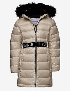 ESSENTIAL DOWN LONG COAT - puffer & padded - whitecap gray