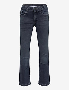 FLARE MR DARK BLUE BLACK STR - jeans - dark blue black stretch