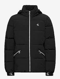 STRETCH PUFFER JACKET - puffer & padded - ck black