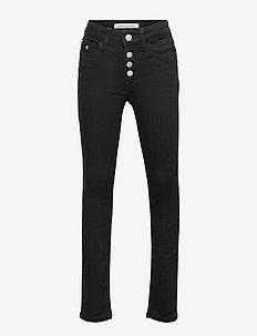 SKINNY HR CLEAN BLK STR - jeans - clean black stretch