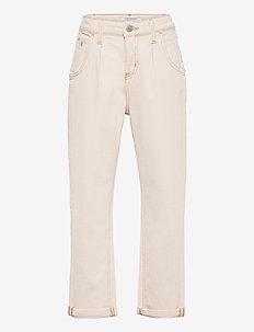 BARREL LEG ECRU NATURAL COM - jeans - ecru natural comfort