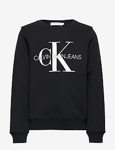 MONOGRAM LOGO SWEATS - sweatshirts - ck black