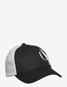 HYBRID LOGO JERSEY BASEBALL CAP - kasketter - ck black