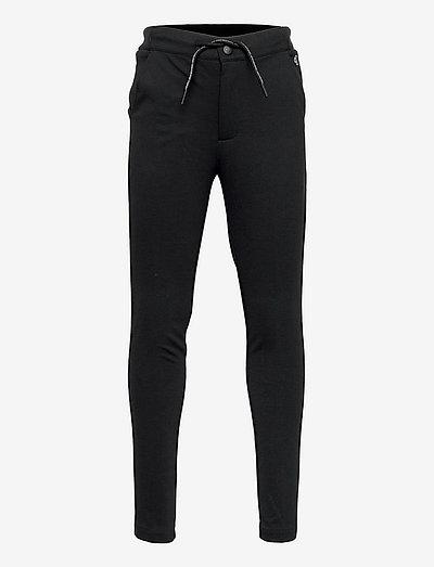 LOGO WAISTBAND SMART PUNTO PANTS - kleidung - ck black