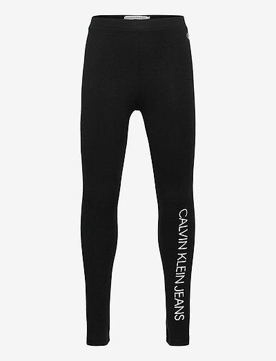 LOGO LEGGING - leggings - ck black