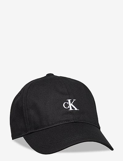 MONOGRAM BASEBALL CAP - huer & kasketter - ck black