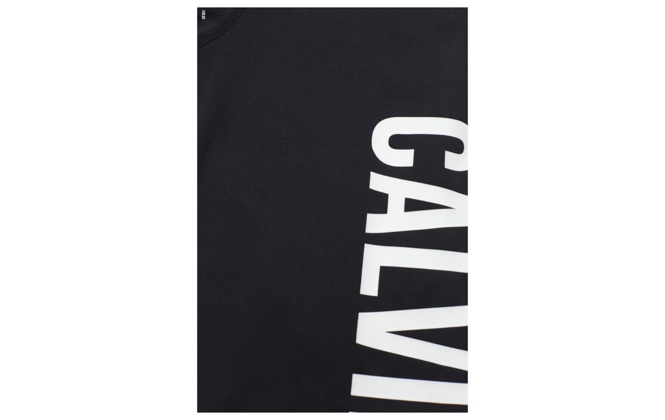 Klein Black Full Performance Tight Length gunmetal Logo Leg Calvin Ck dw8CqEdvp