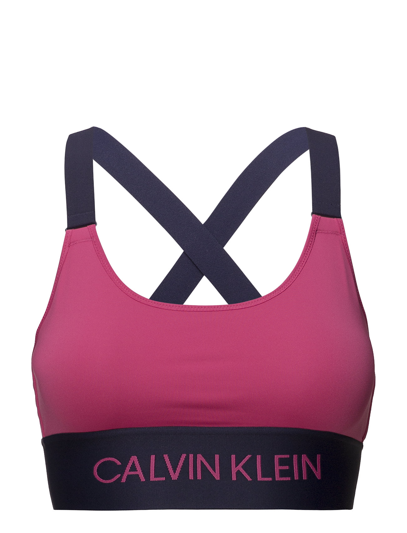 c65b8708bb6d6 Cross Back Sports Bra (Pink Yarrow) (38.94 €) - Calvin Klein ...