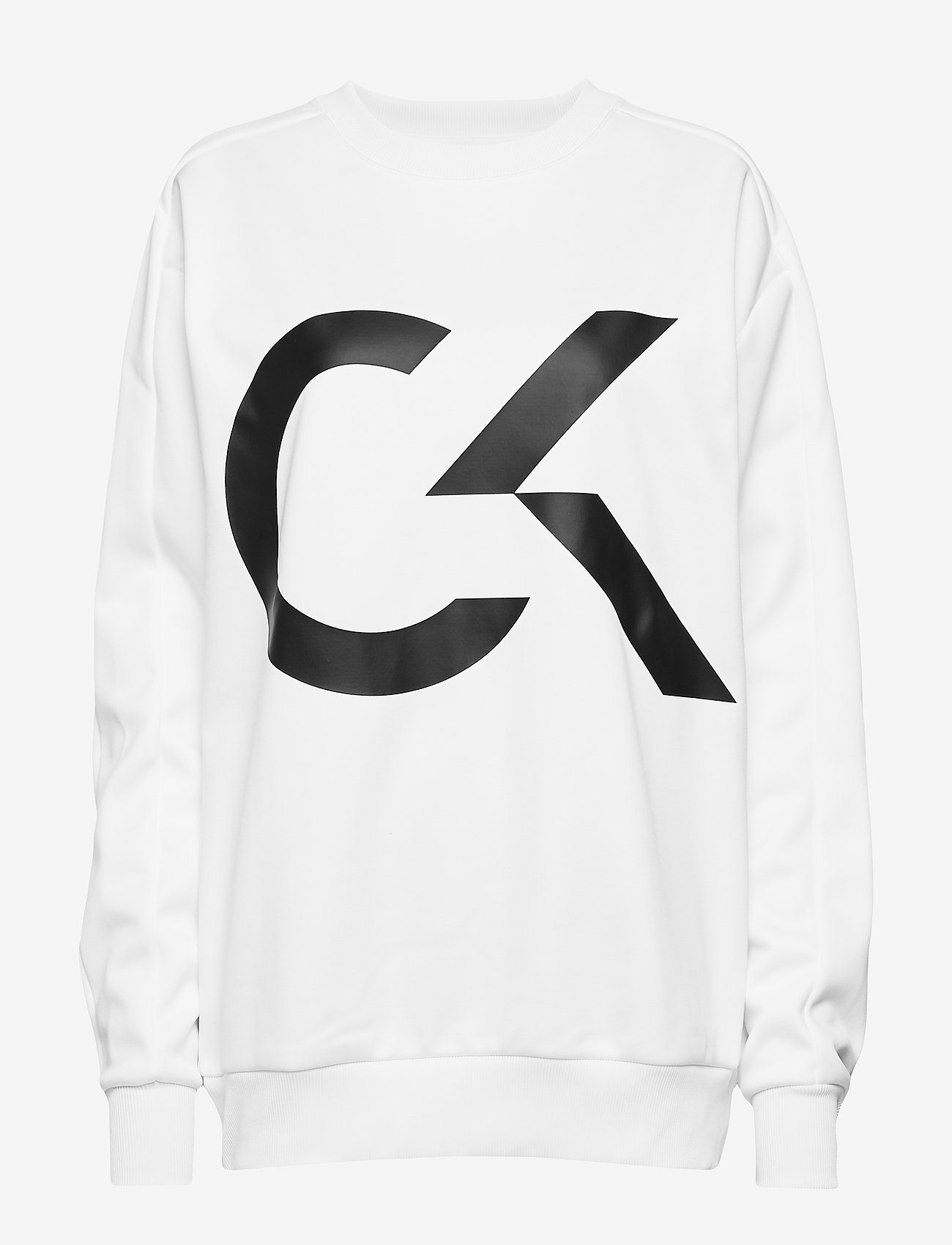 Calvin Klein Performance - PULLOVER - sweatshirts - bright white - 0