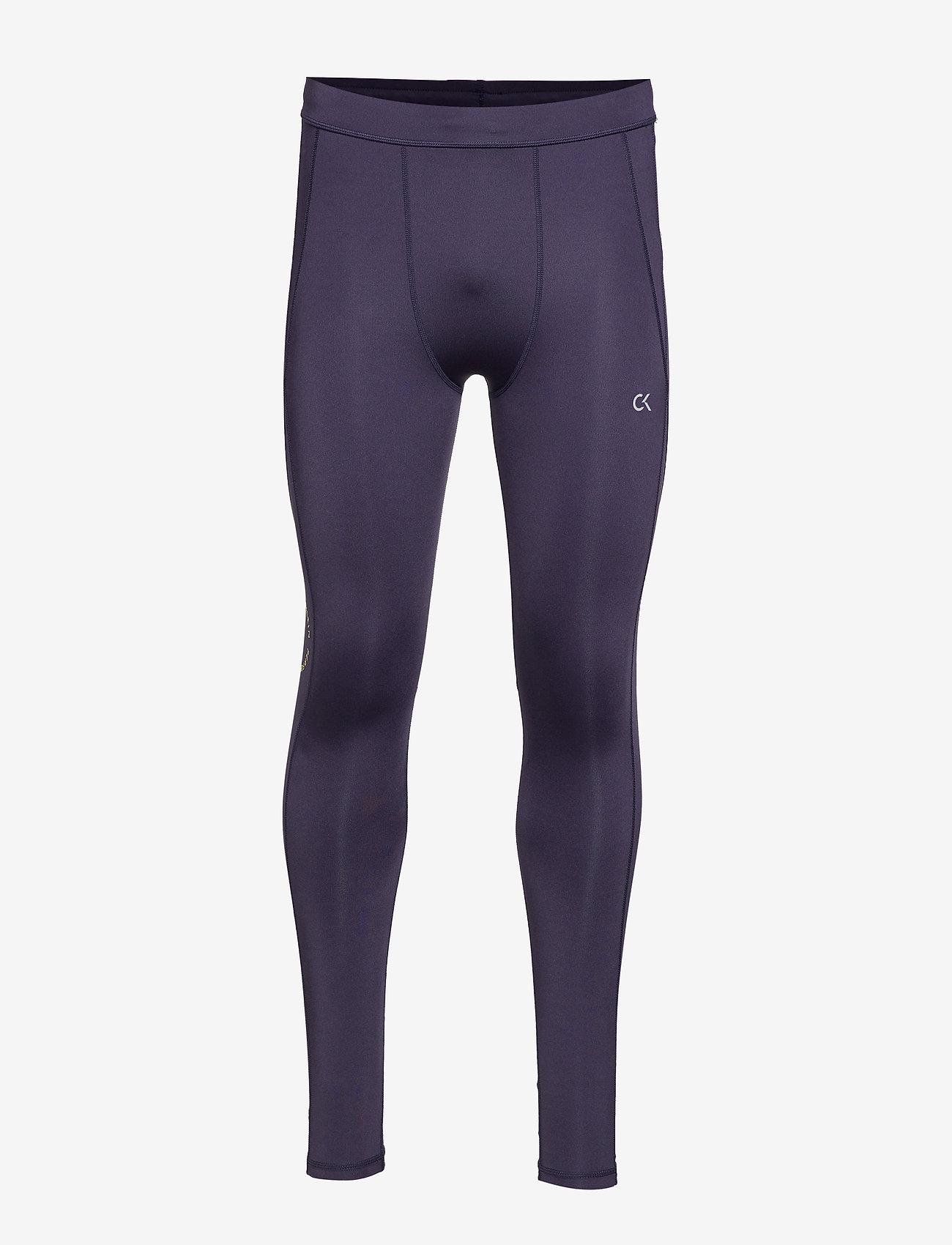 Calvin Klein Performance - FULL LENGTH TIGHT - running & training tights - night sky/sulphur spring - 0