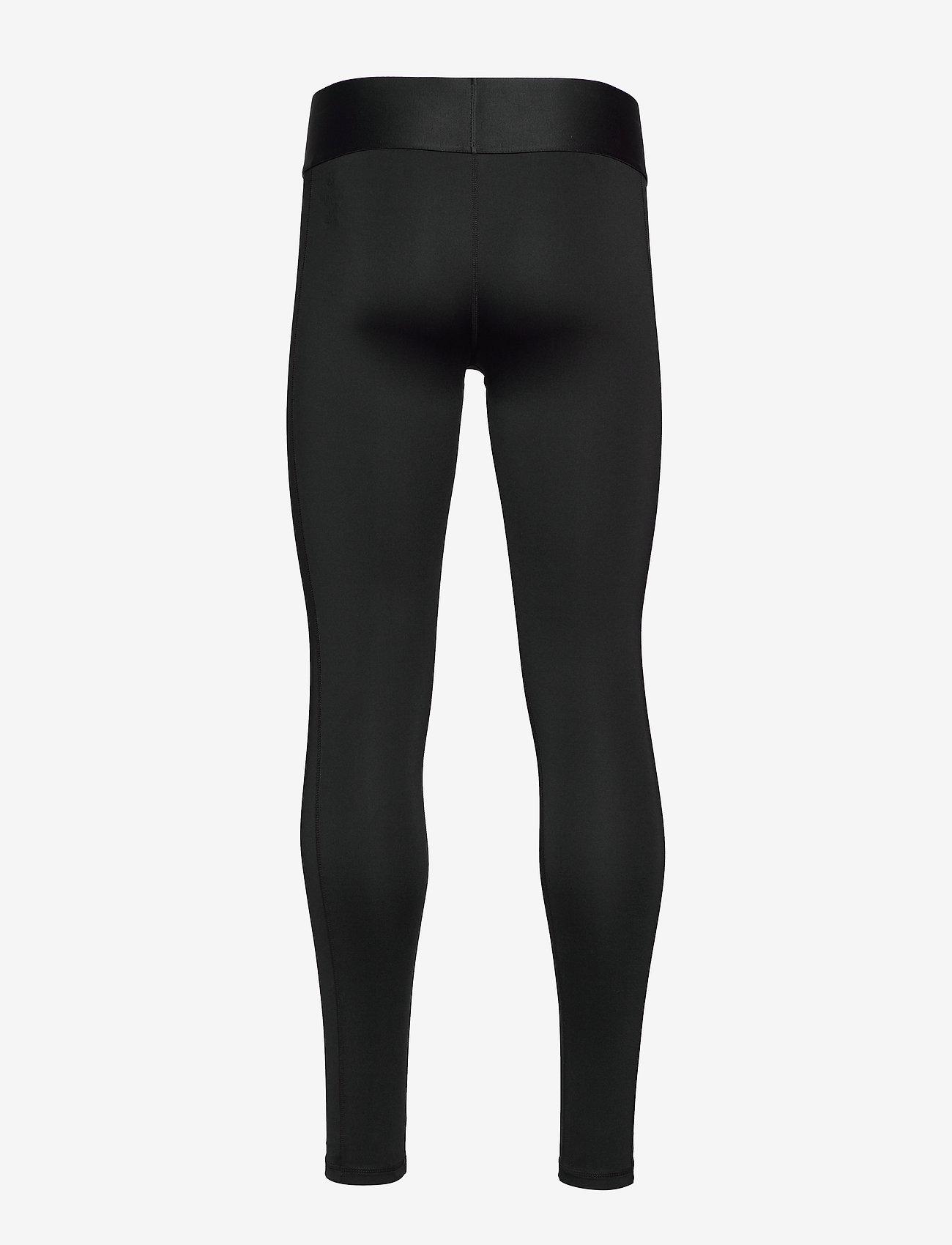 Calvin Klein Performance - FULL LENGTH TIGHT - running & training tights - ck black/bright white - 1