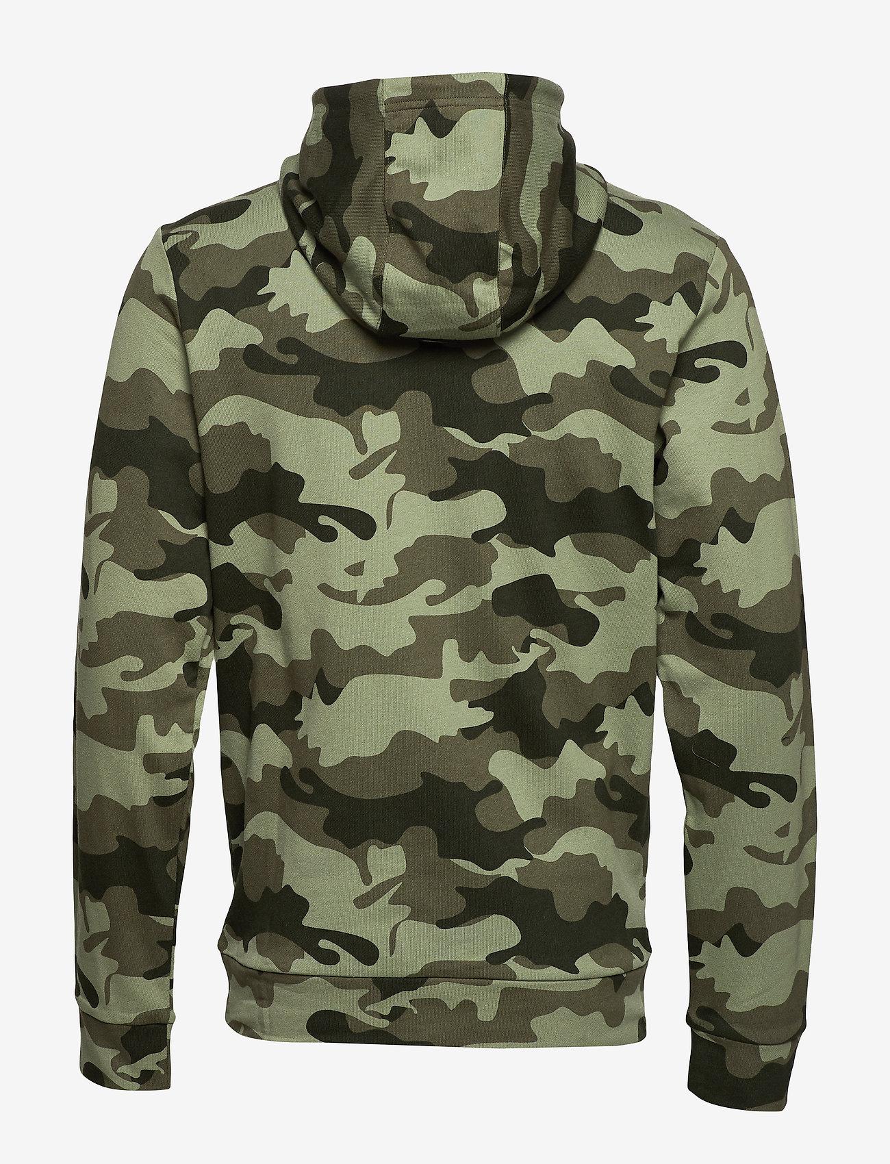 Calvin Klein Performance - FULL ZIP HOODED JACKET - hoodies - grape leaf camo - 1