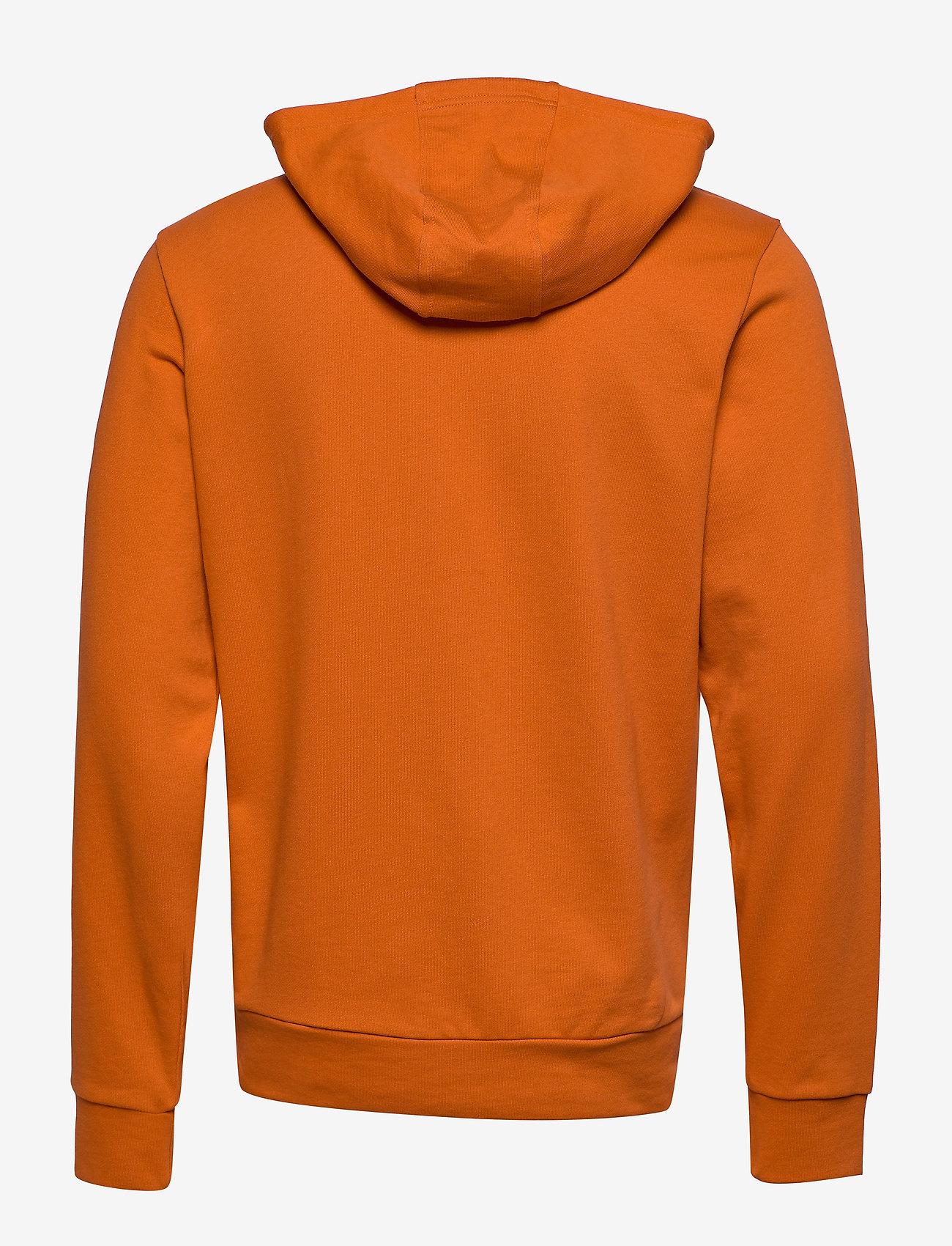 Calvin Klein Performance - FULL ZIP HOODED JACKET - hoodies - burnt orange - 1