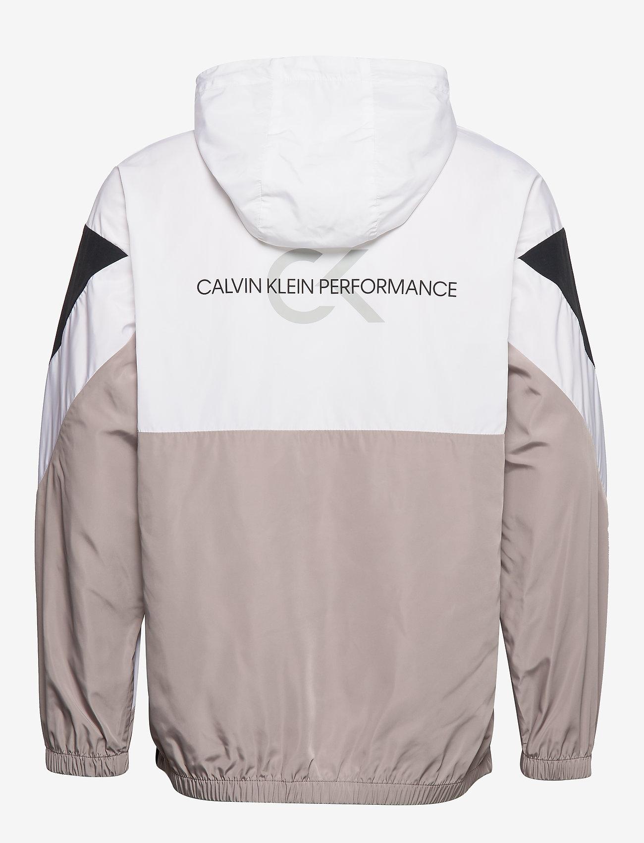 Calvin Klein Performance Hooded Woven Jacket - Jackor & Rockar Ck Black