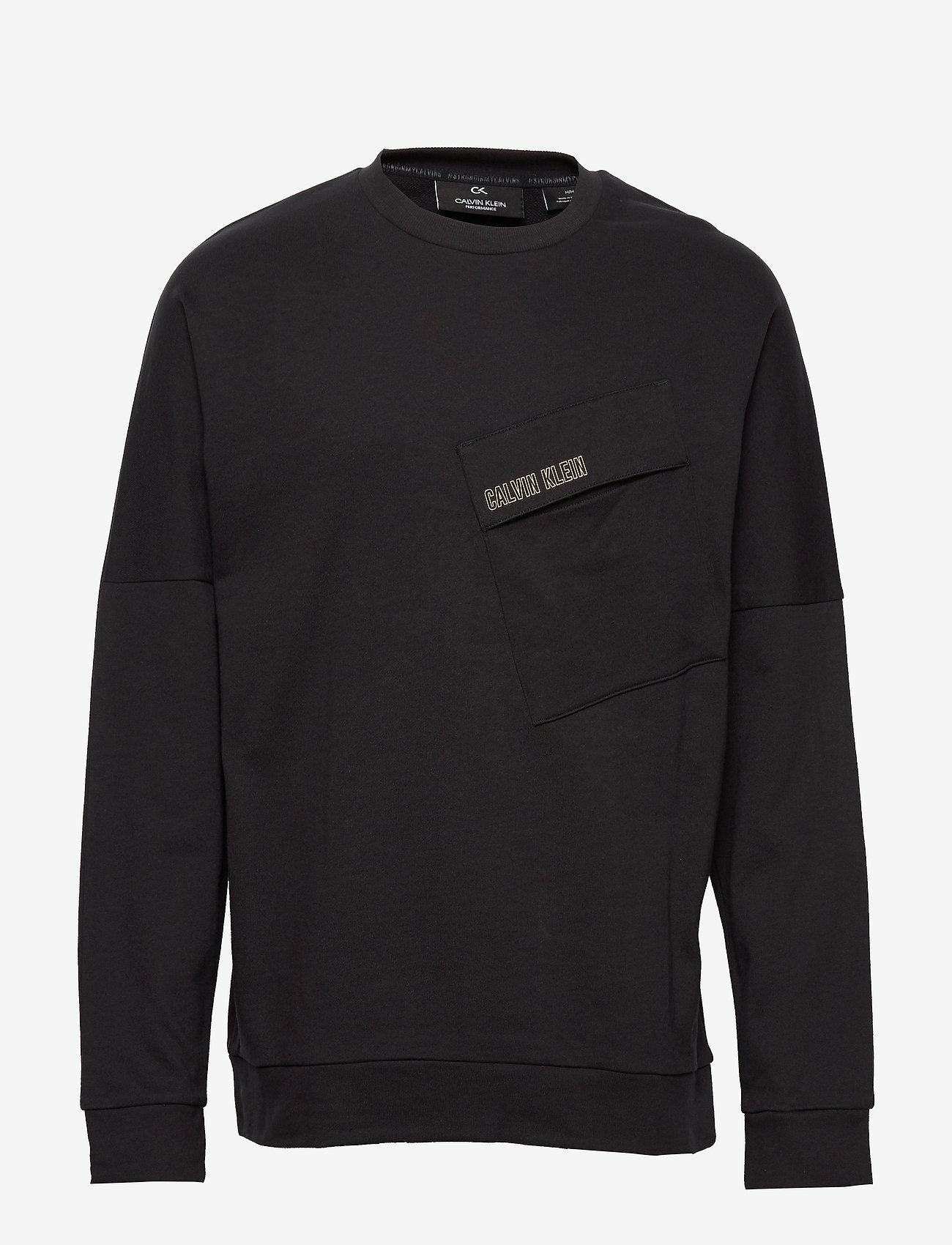 Calvin Klein Performance - PULLOVER - basic sweatshirts - ck black - 0
