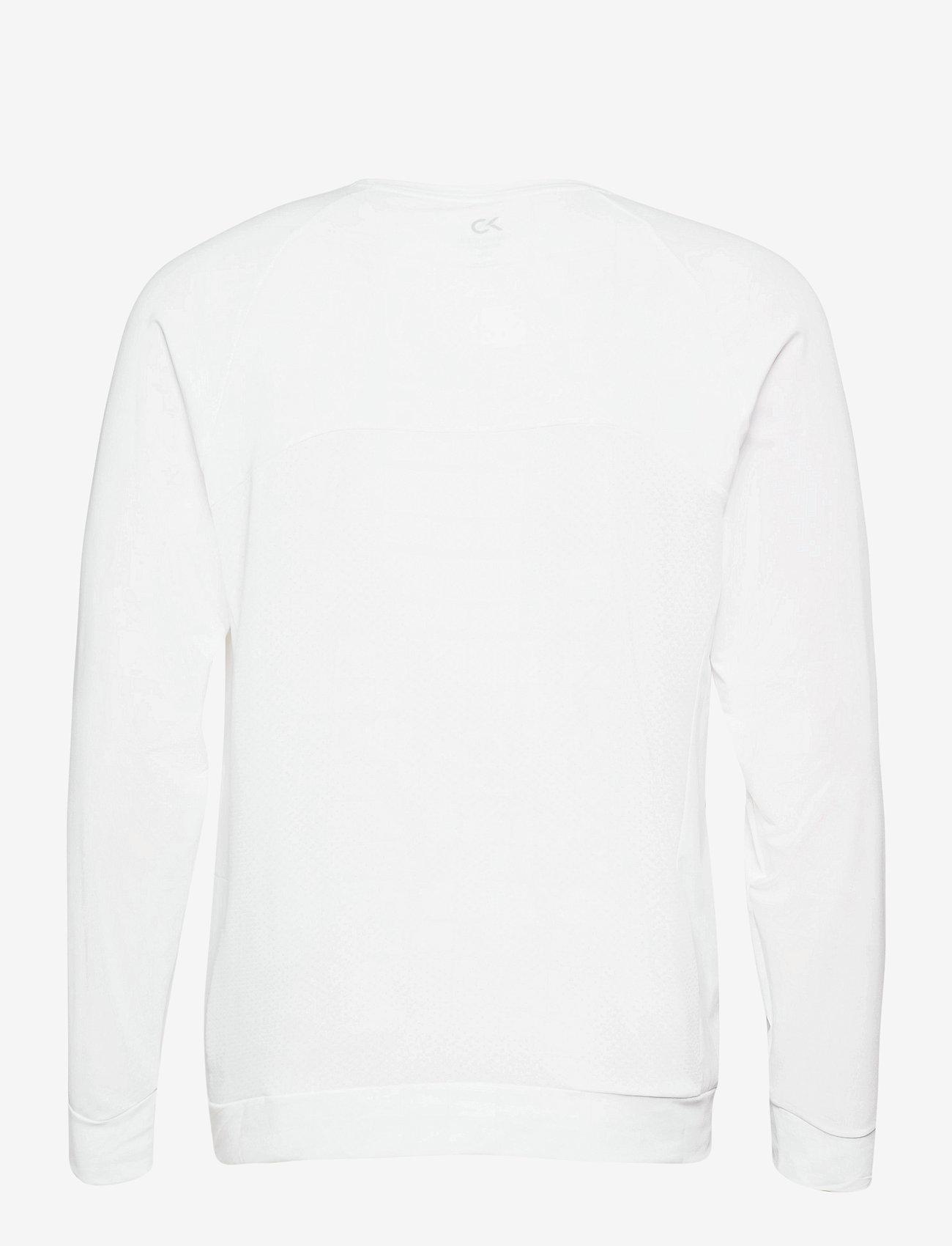 Calvin Klein Performance - WO - LONG SLEEVE T-SHIRT - hauts à manches longues - bright white - 1