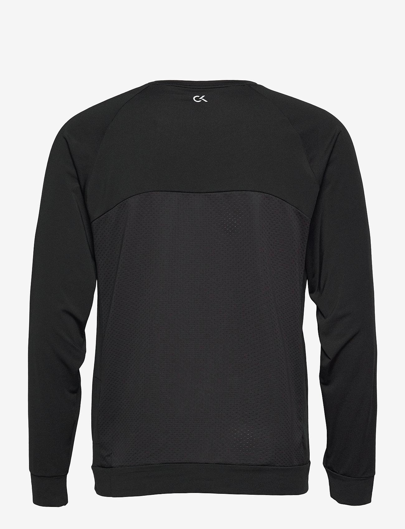 Calvin Klein Performance - WO - LONG SLEEVE T-SHIRT - hauts à manches longues - ck black - 1