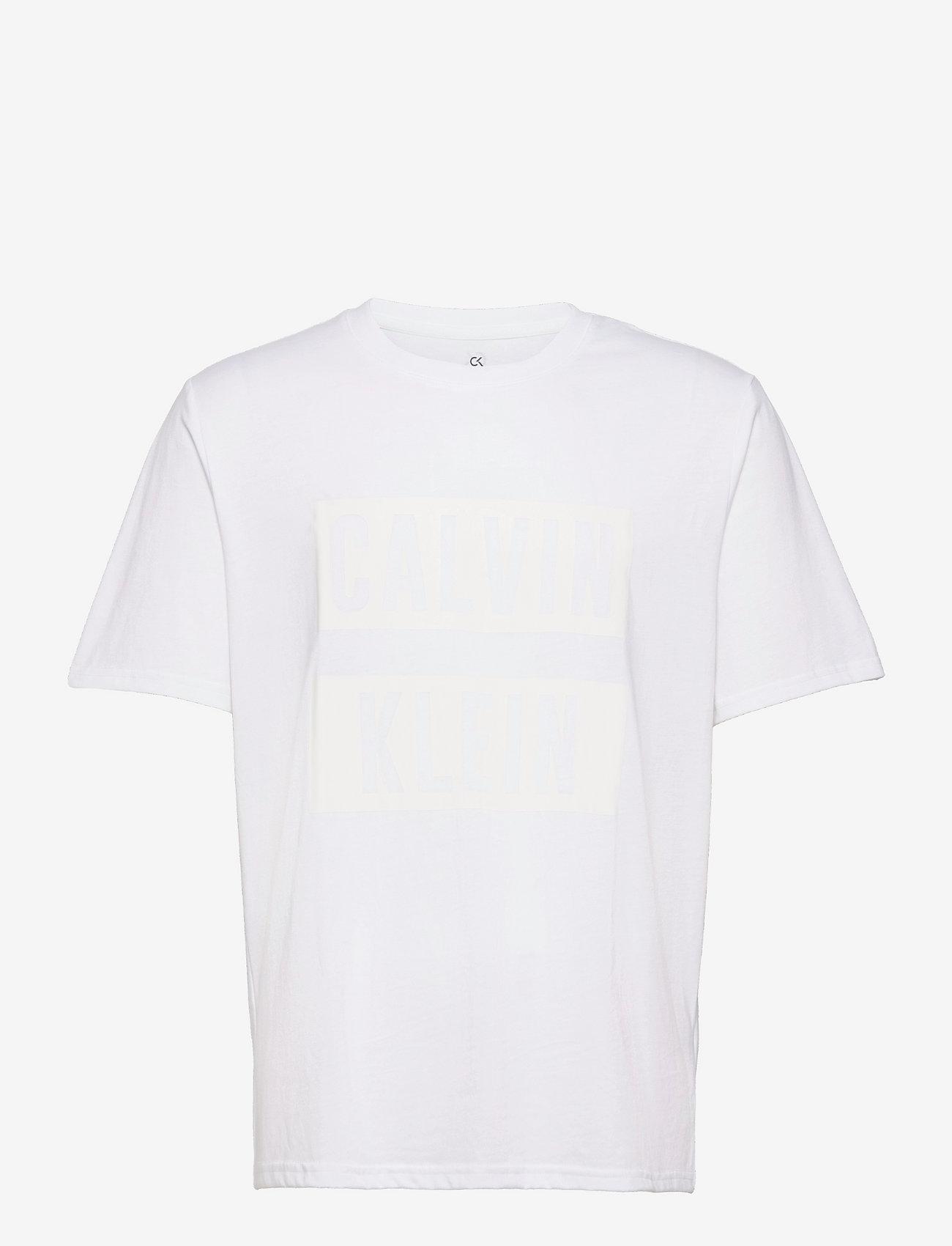 Calvin Klein Performance - PW - S/S T-SHIRT - t-shirts - bright white - 0