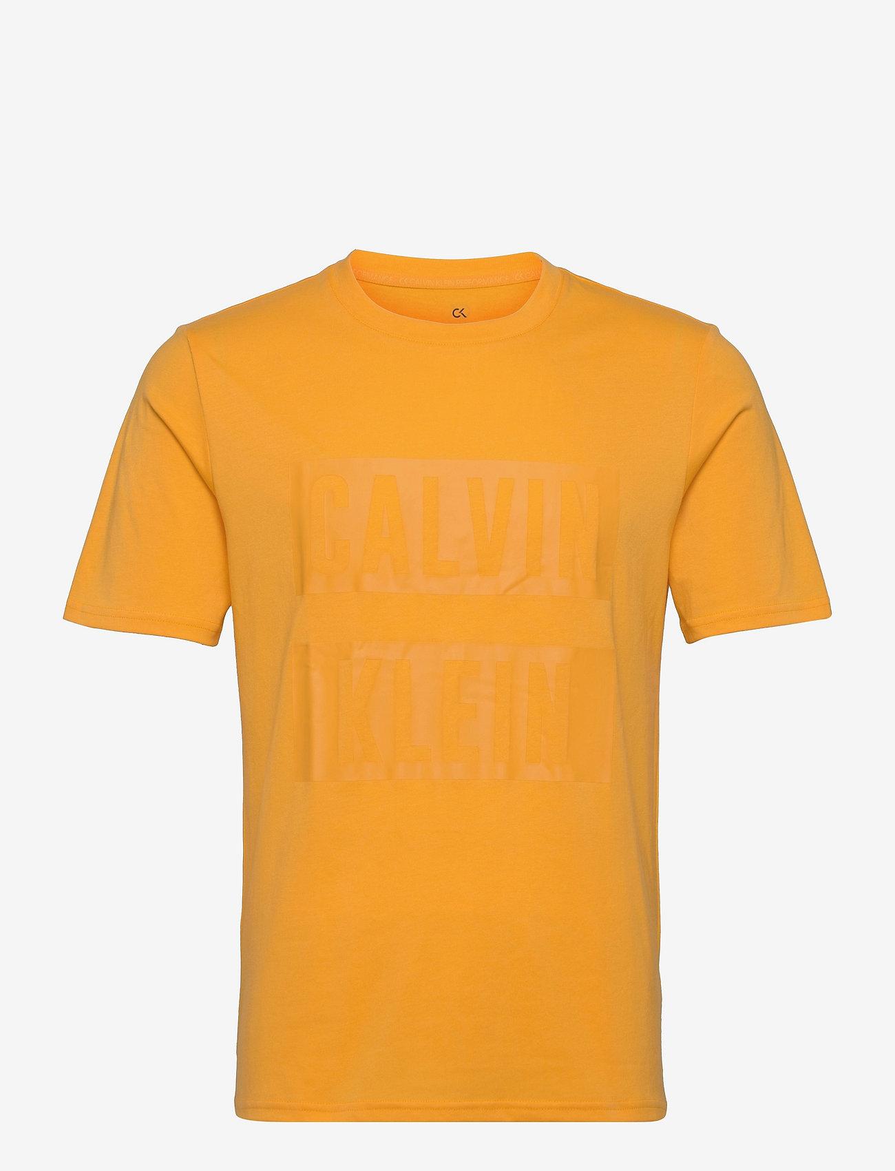 Calvin Klein Performance - PW - S/S T-SHIRT - t-shirts - mellow yellow - 0