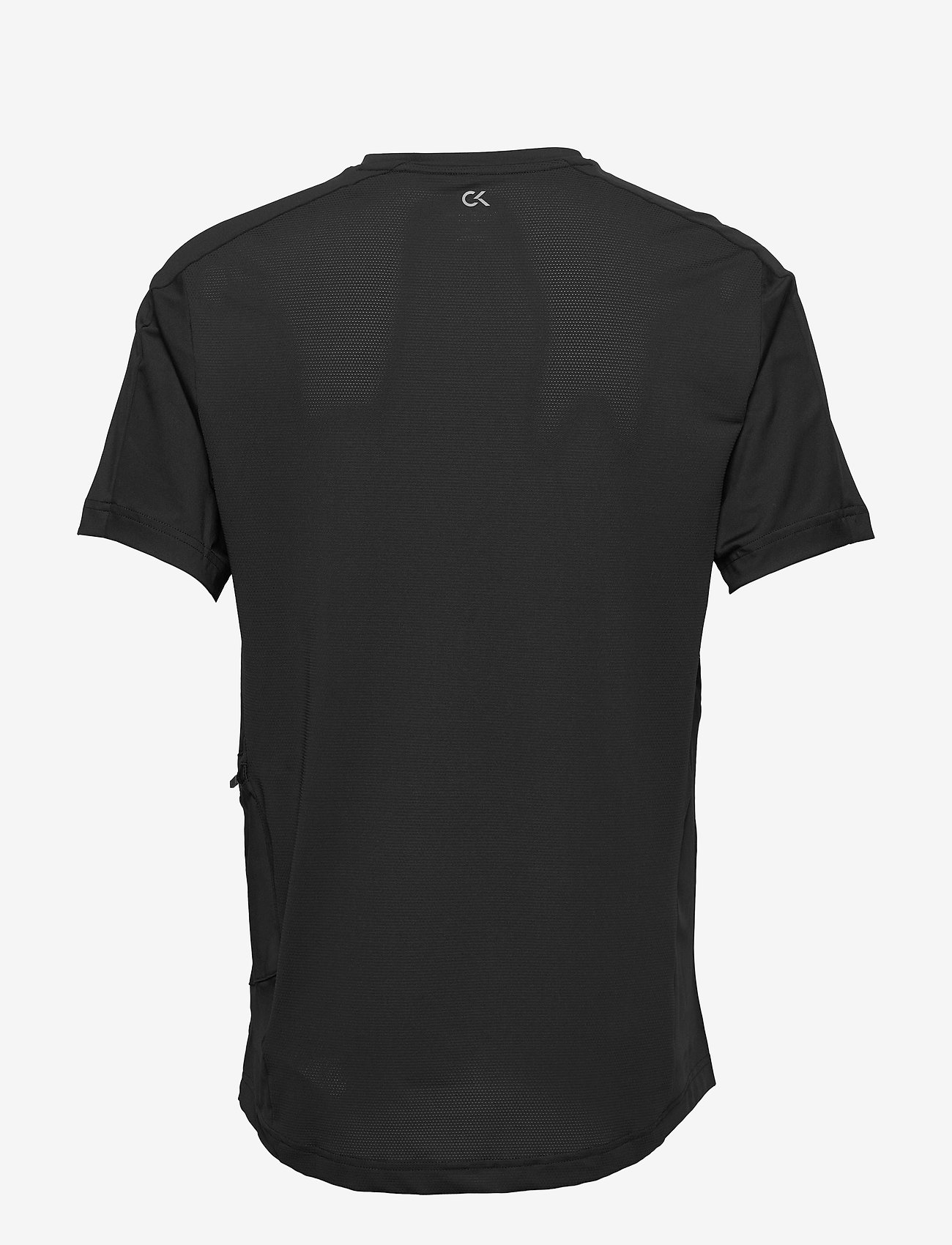 Calvin Klein Performance - SHORT SLEEVE T-SHIRT - sports tops - ck black/ck black/color reflec - 1