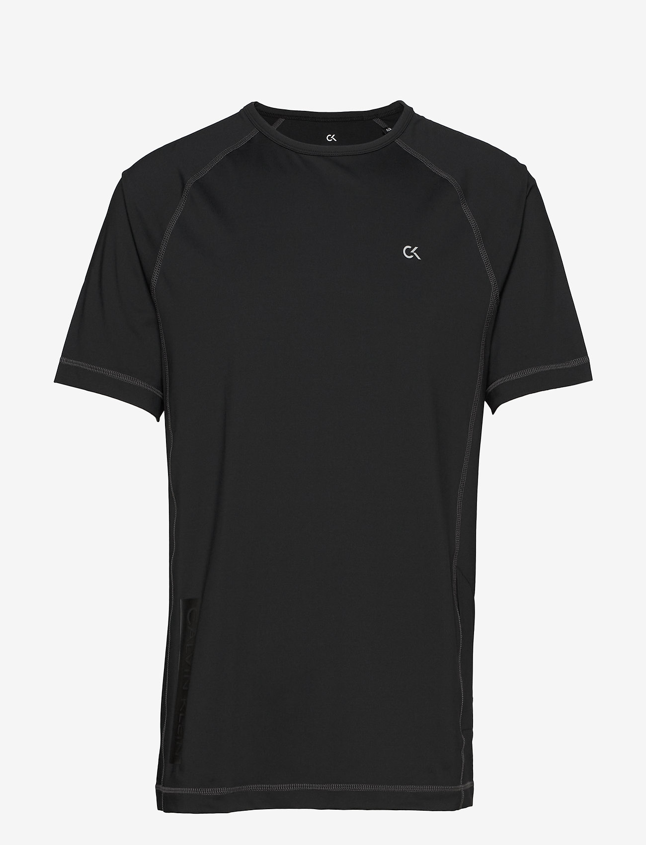 Calvin Klein Performance - SHORT SLEEVE T-SHIRT - t-shirts - ck black/ck black/ck black - 0