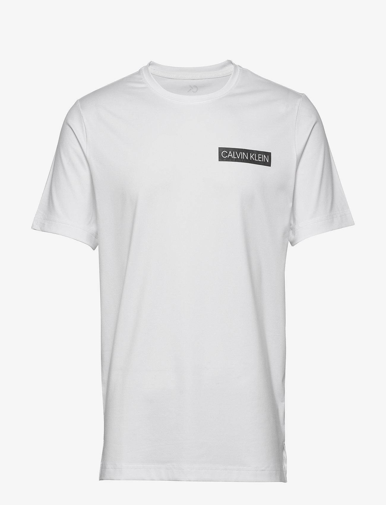 Calvin Klein Performance - SHORT SLEEVE T-SHIRT - sports tops - bright white/ck black - 0