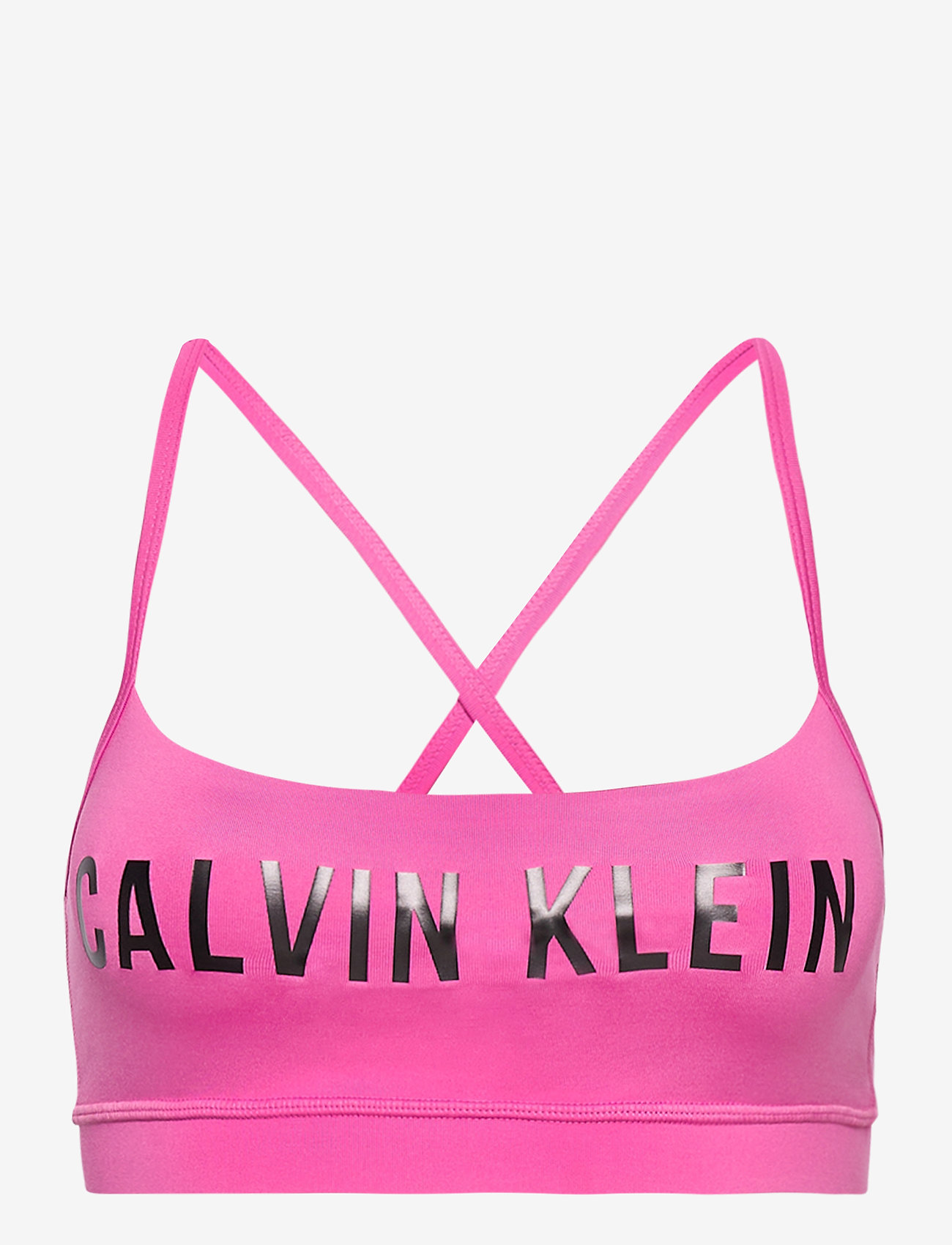 Calvin Klein Performance - LOW SUPPORT BRA - sportbeh''s: low - pink hollywood - 0