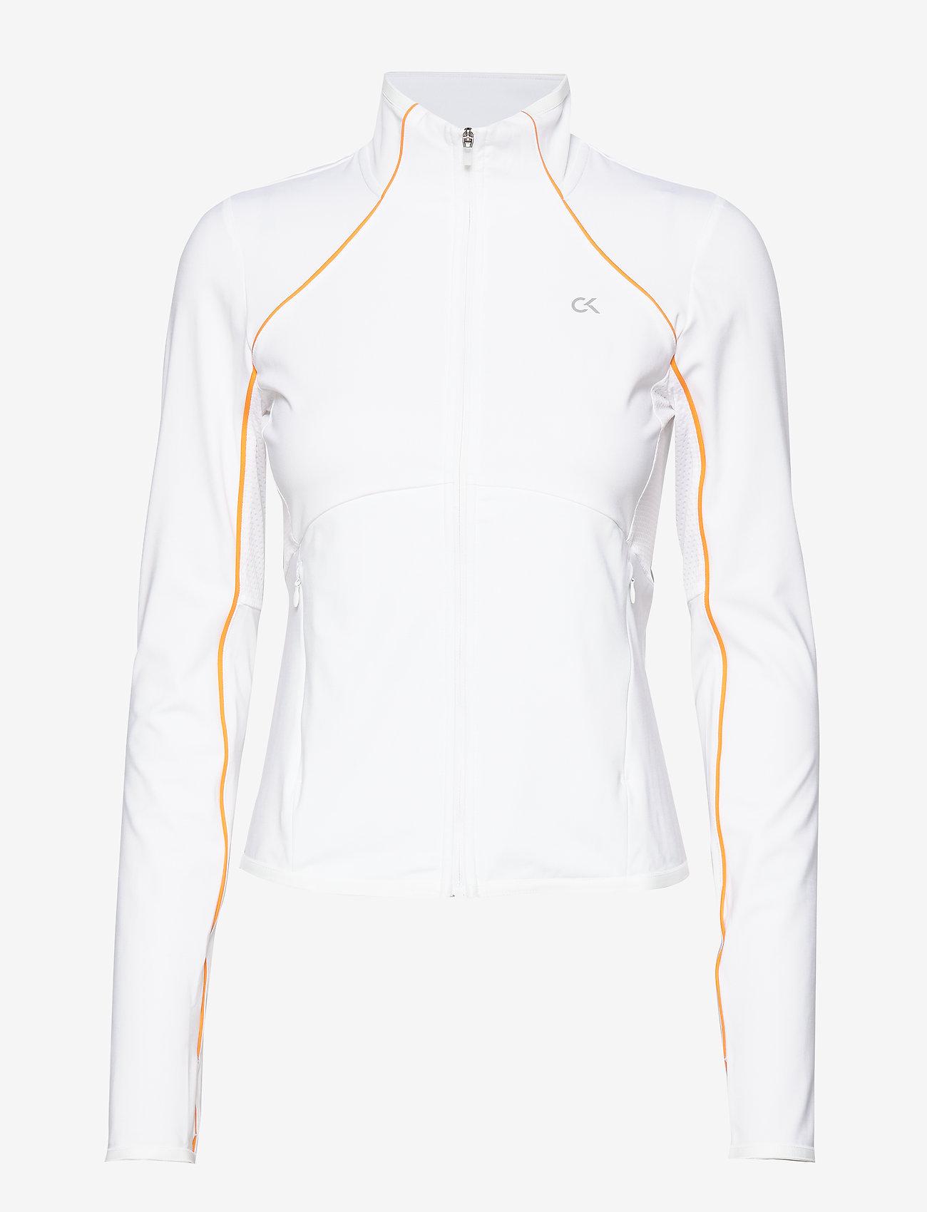 Calvin Klein Performance - WINDJACKET - sweatshirts - bright white - 0