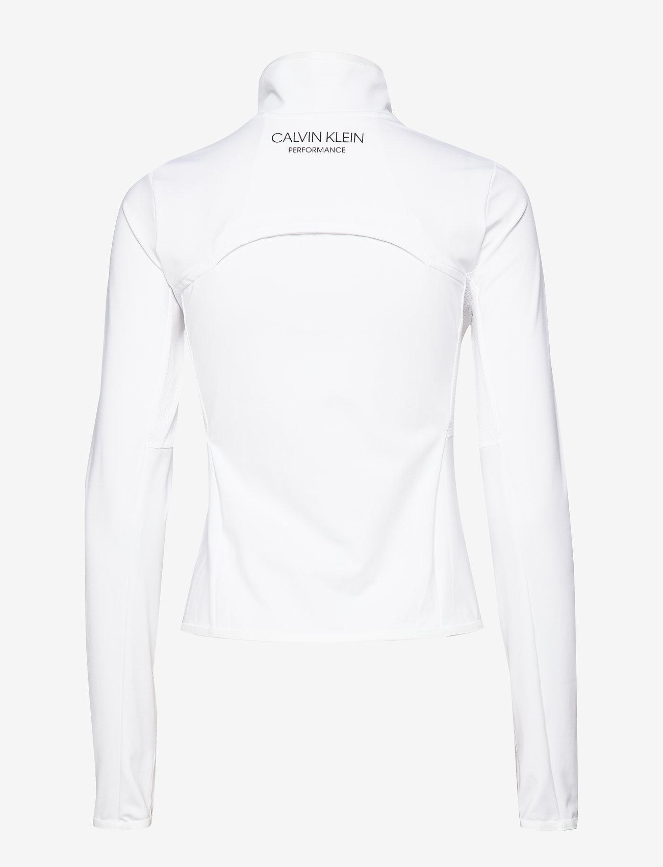 Calvin Klein Performance - WINDJACKET - sweatshirts - bright white - 1