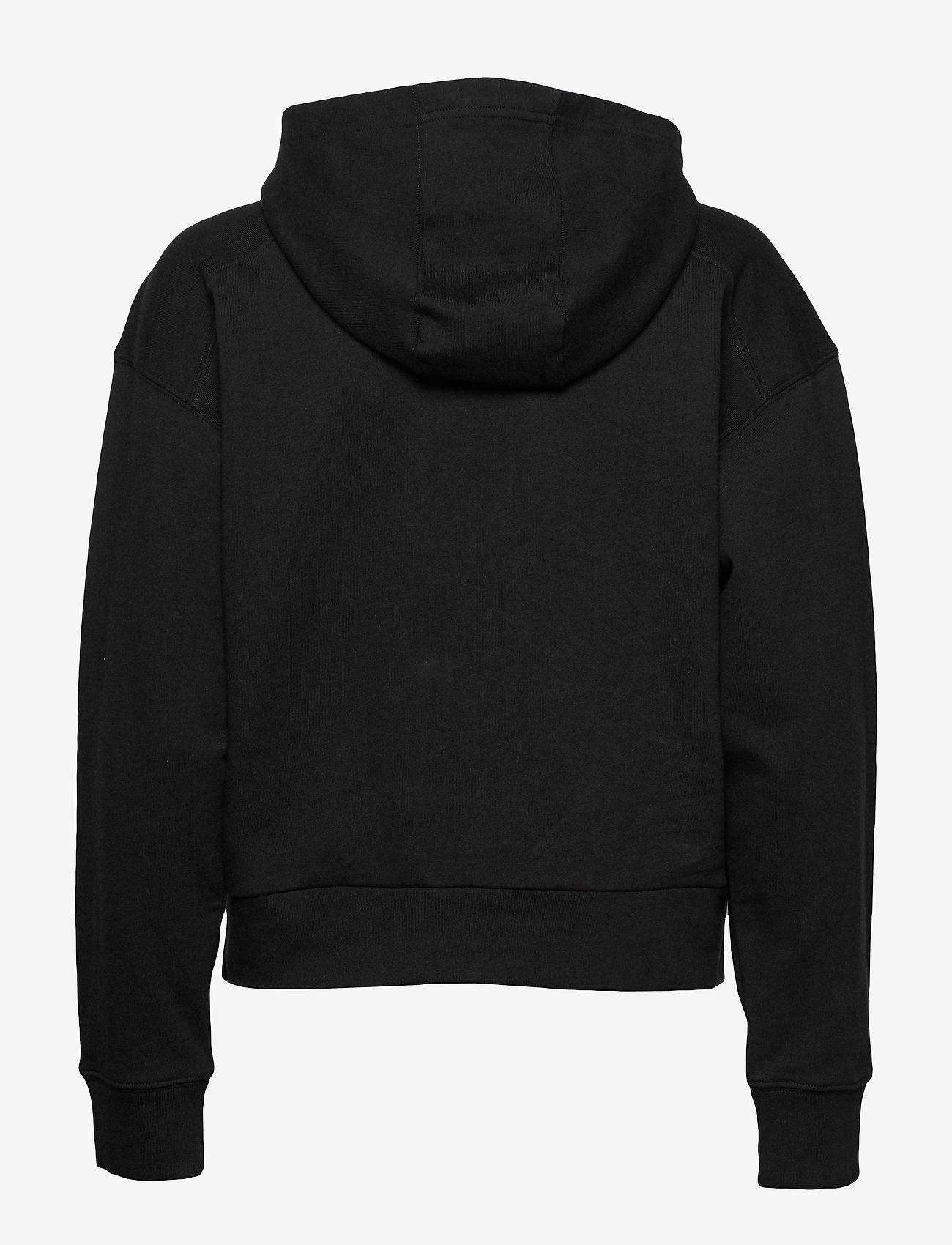 Calvin Klein Performance - FULL ZIP HOODIE - hoodies - ck black - 1