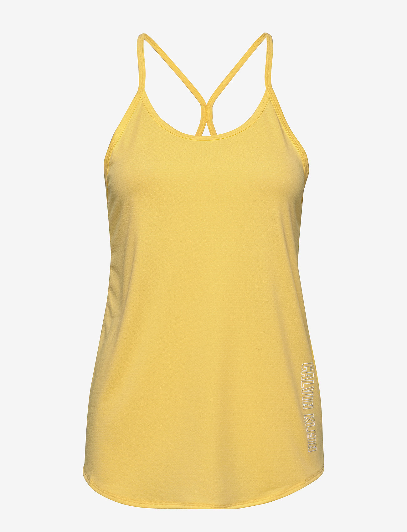 Calvin Klein Performance - TANK TOP - tank tops - cyber yellow - 0