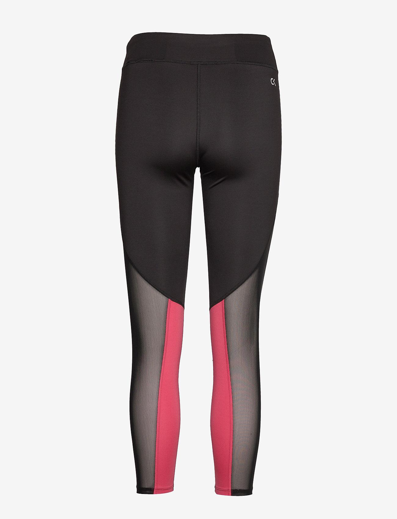 Calvin Klein Performance - 7/8 TIGHT - running & training tights - ck black - 1