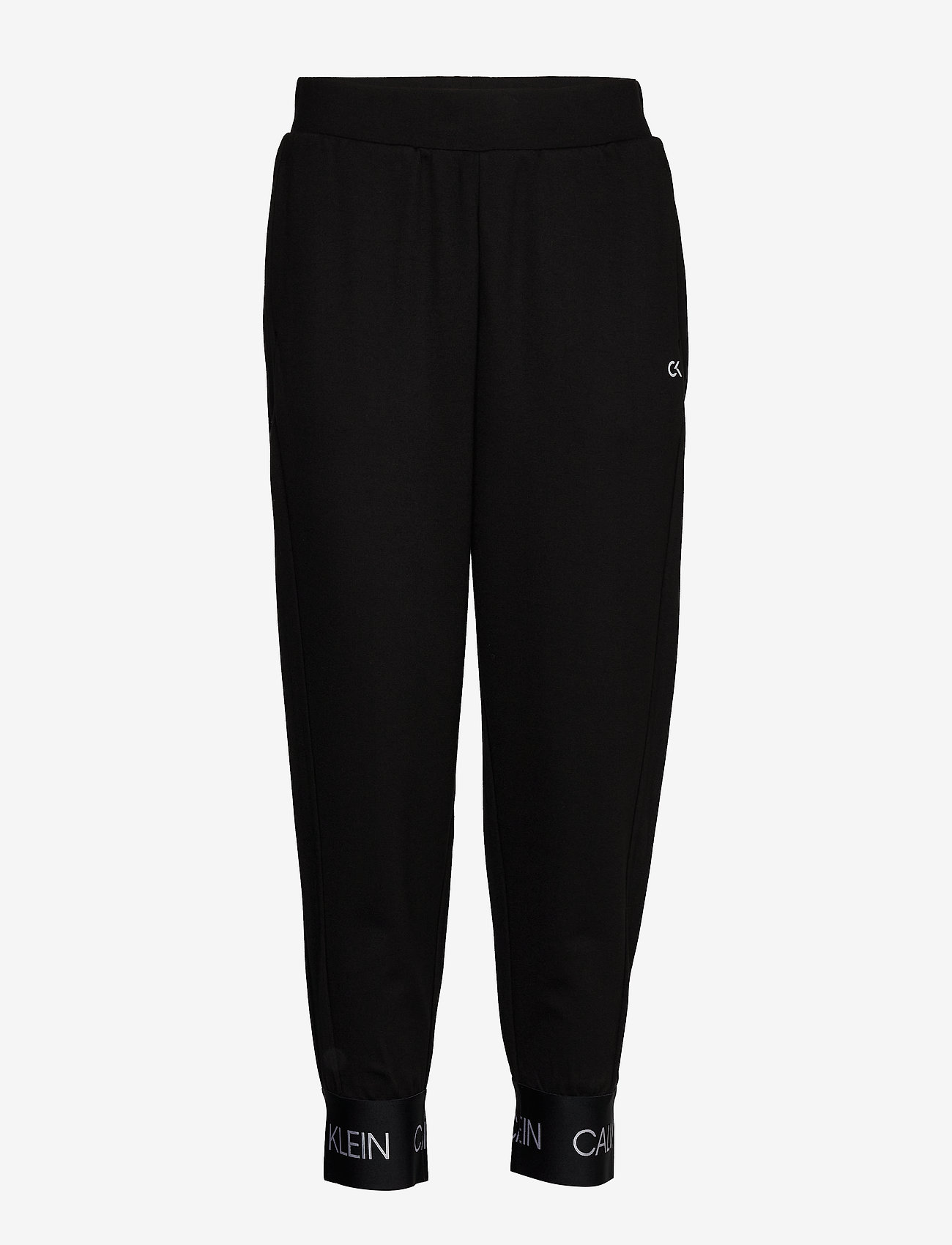 Calvin Klein Performance - KNIT PANTS - sports pants - ck black - 0