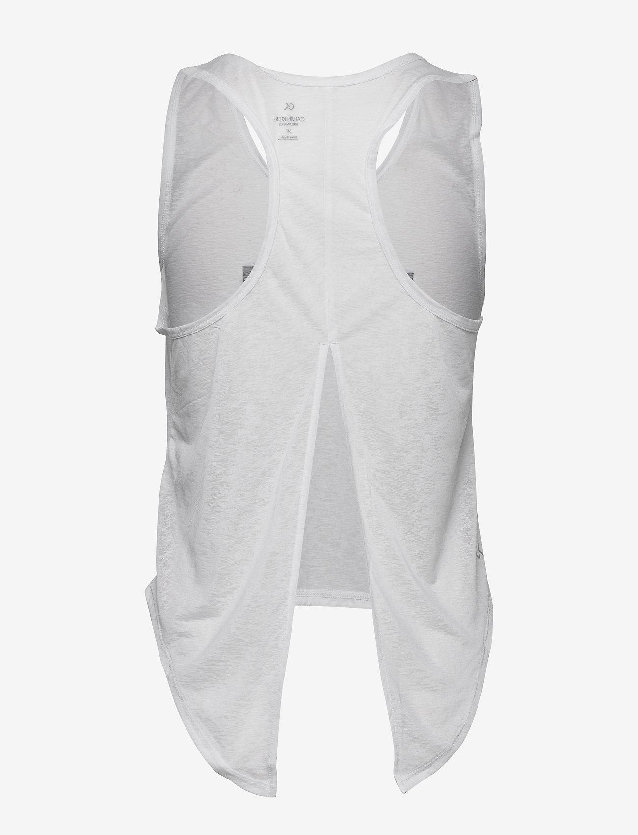 Calvin Klein Performance - TANK - tank tops - bright white - 1