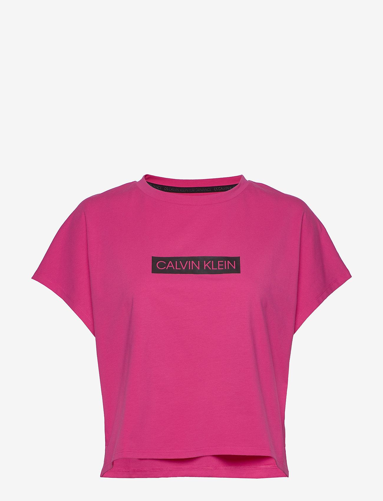 Calvin Klein Performance - SHORT SLEEVE T-SHIRT - t-shirts - beetroot purple - 0