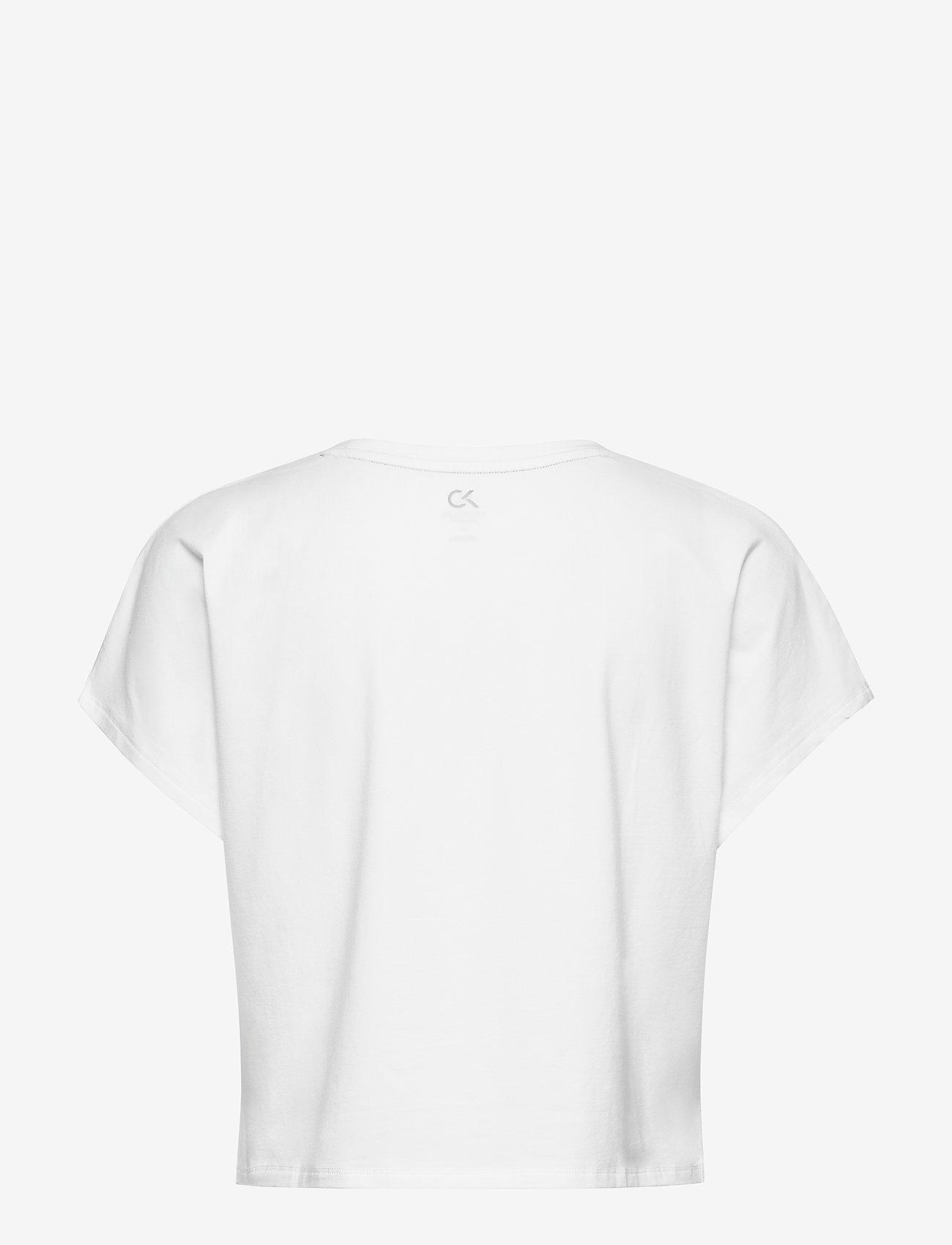 Calvin Klein Performance - SHORT SLEEVE T-SHIRT - t-shirts - bright white - 1
