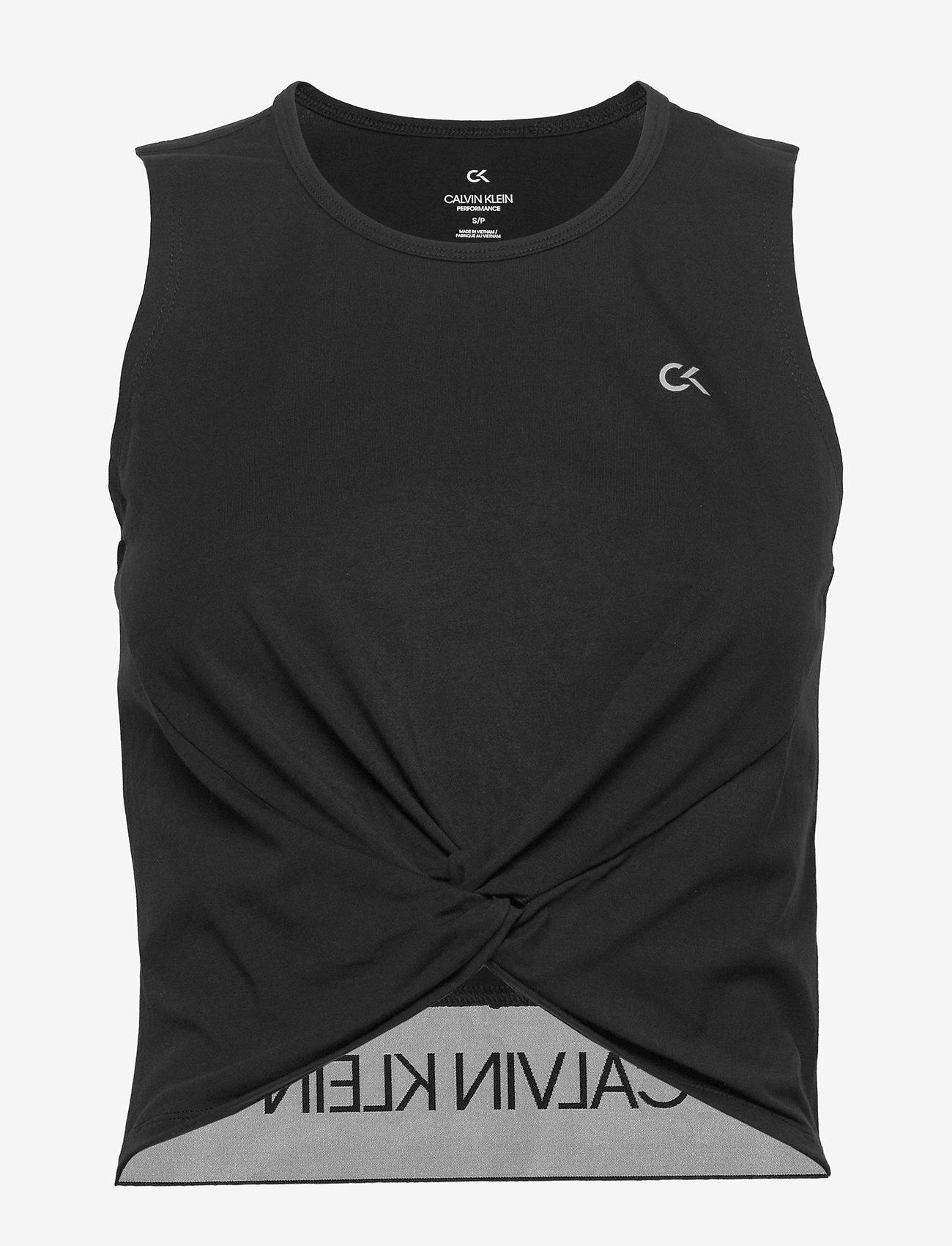 Calvin Klein Performance - TANK - tank tops - ck black - 0