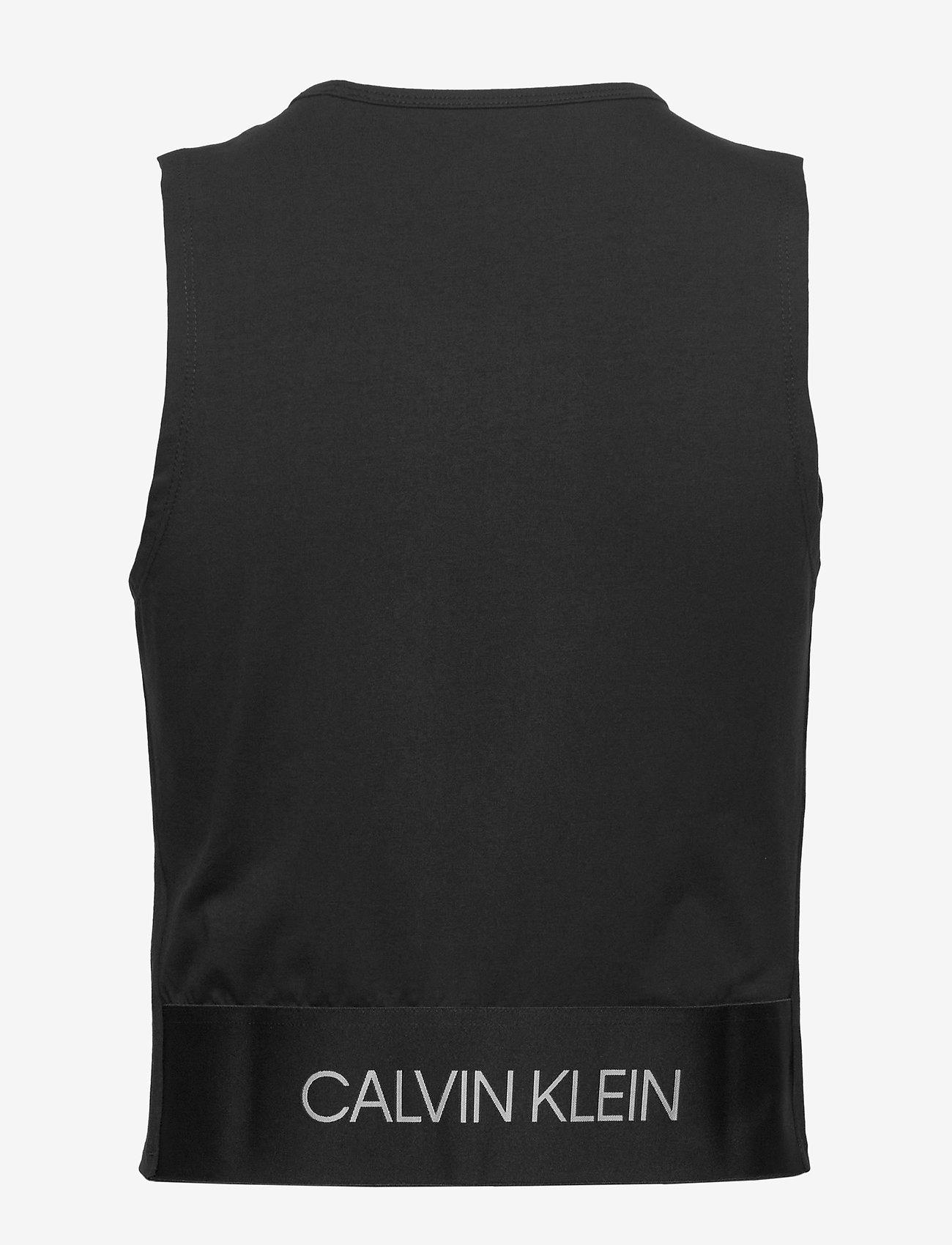 Calvin Klein Performance - TANK - tank tops - ck black - 1