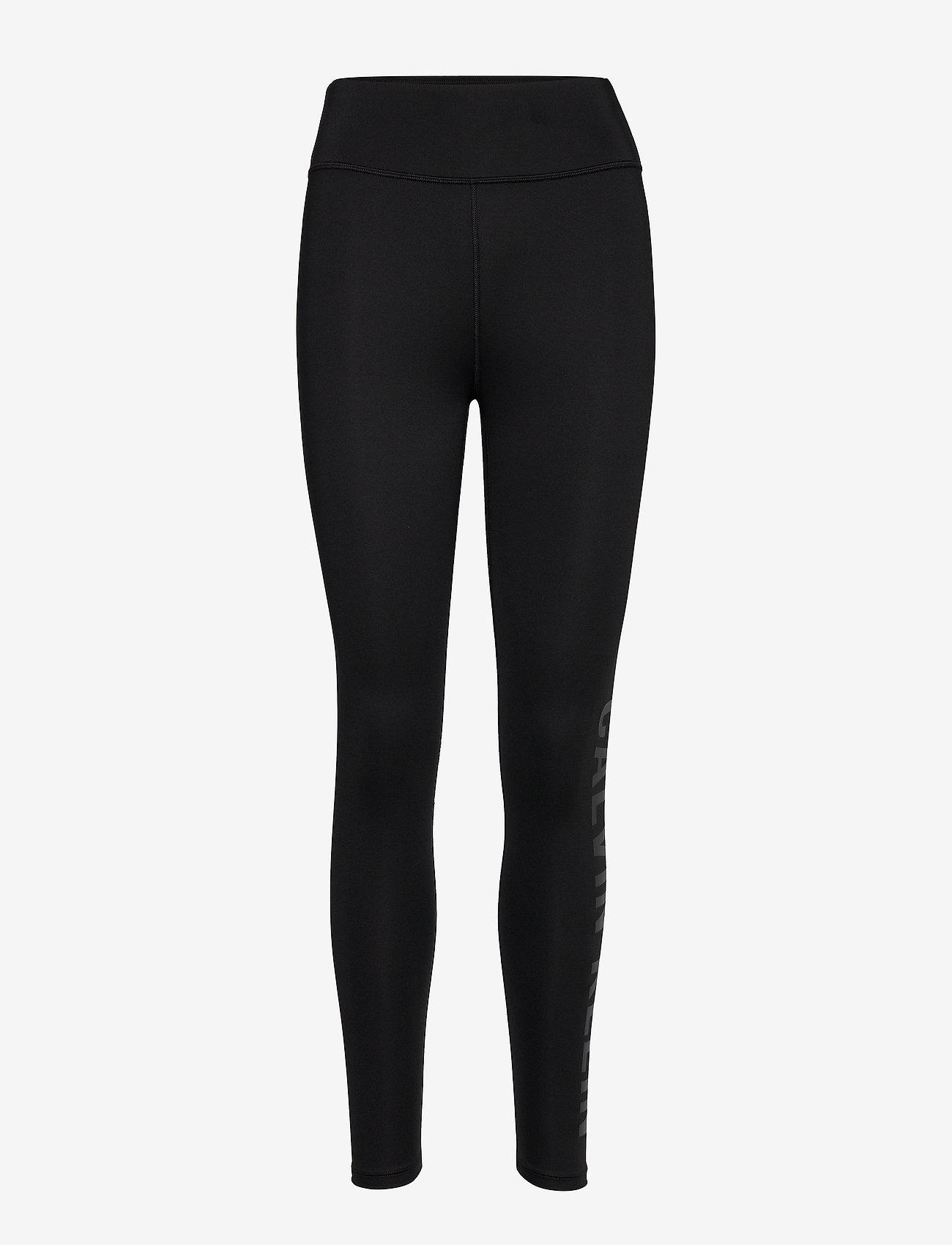 Calvin Klein Performance - FULL LENGTH TIGHT - running & training tights - ck black - 0