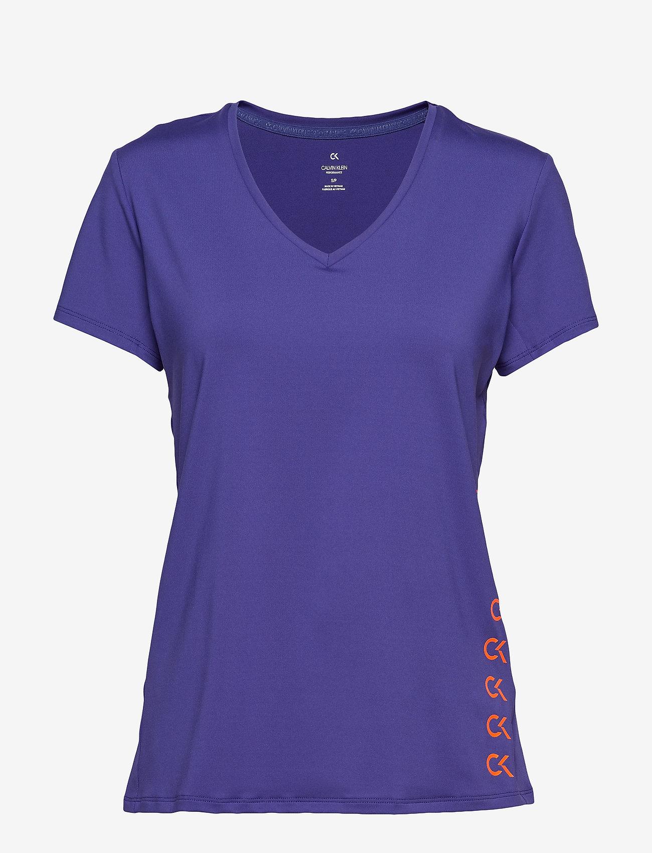Calvin Klein Performance - COOLCORE SS TEE - t-shirts - spectrum blue - 0