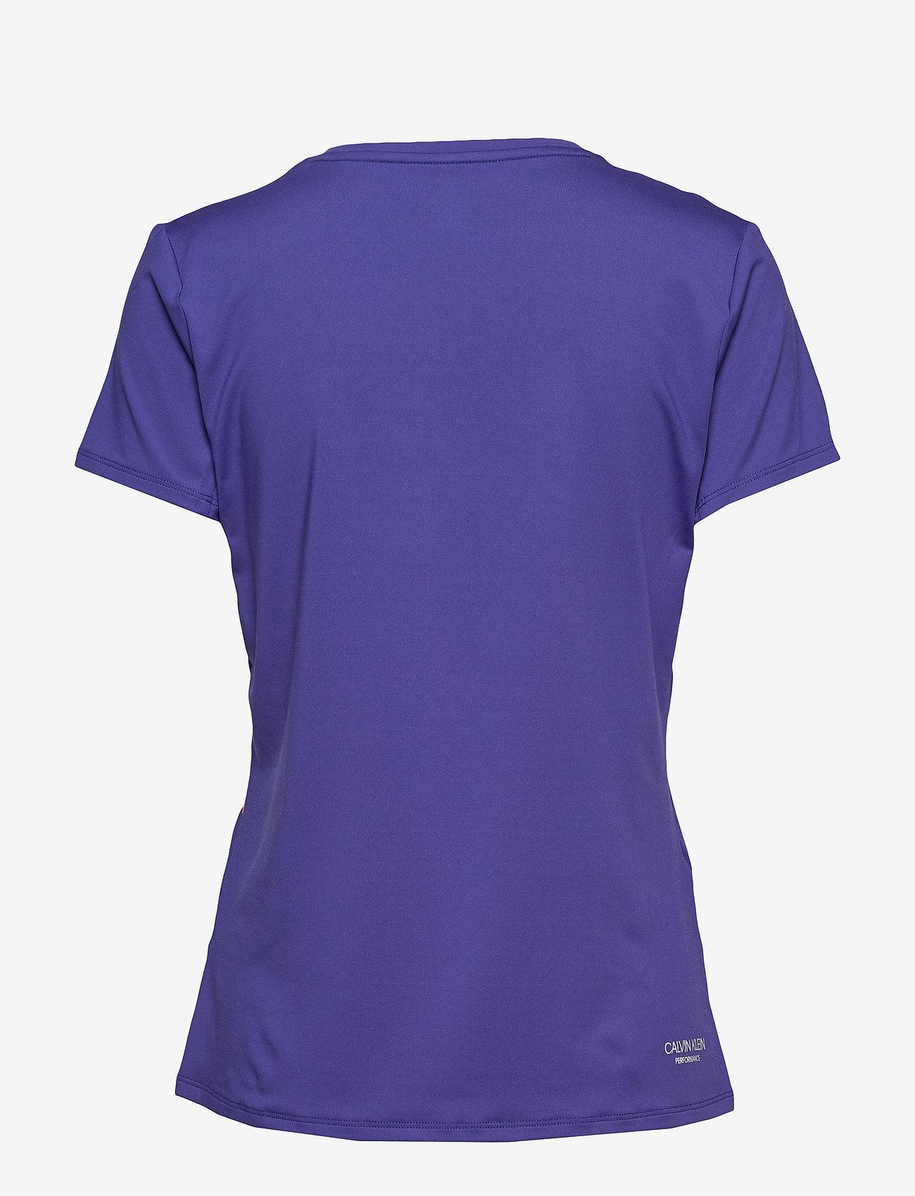 Calvin Klein Performance - COOLCORE SS TEE - t-shirts - spectrum blue - 1