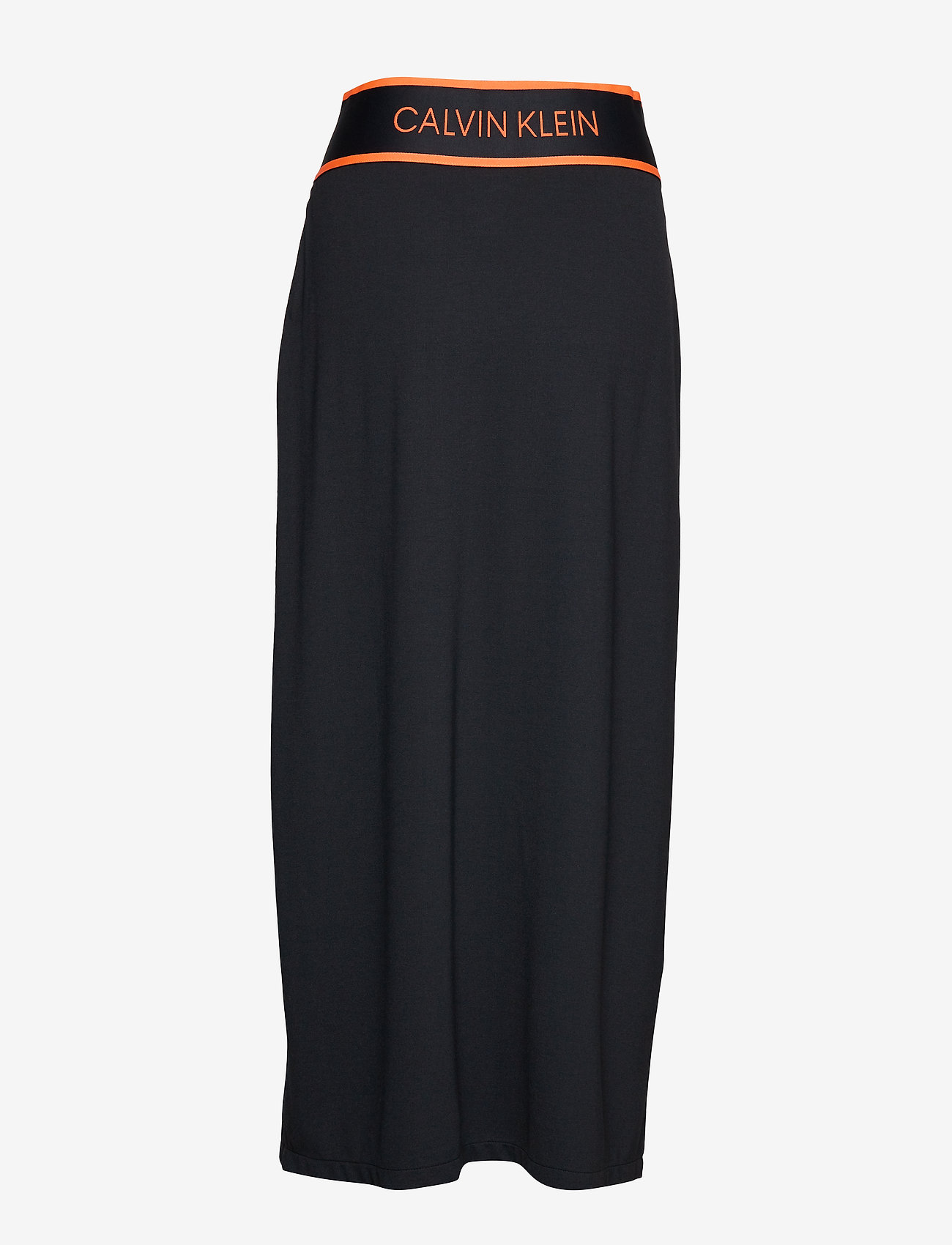 Calvin Klein Performance - MIDI SKIRT - sports skirts - ck black/fiery coral - 1